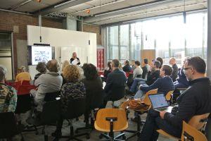 Willma Knol en het publiek